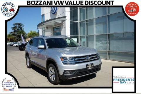 New 2018 Volkswagen Atlas SEL with 4MOTION®
